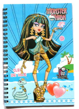 Блокнот 3D Monster High 3