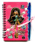 Блокнотик   ручка Monster high 2