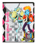Тетрадь 18л в клетку Monster High 2