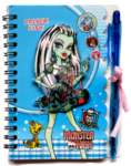Блокнотик + ручка Monster high 5