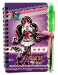 Блокнотик + ручка Monster high 6